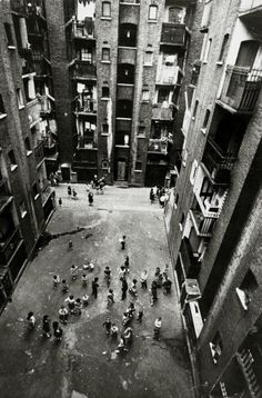 14th September 1966 Tenement blocks in Collinson Street Southwark London