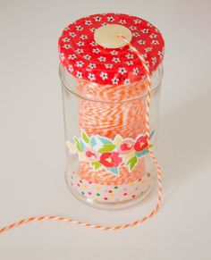 thread storage jar Flickr Group Favourite DIY Projects