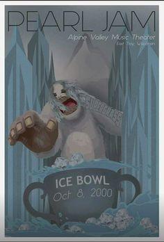 "Pearl Jam Alpine Valley ""Ice Bowl """