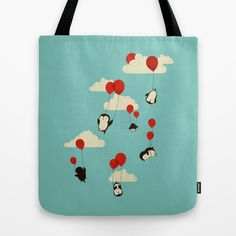 We Can Fly! Tote Bag by Jay Fleck - $22.00