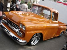 2010 Grand National Roadster Show - Chevy-Trucks - 1958 Chevy Truck, Chevy Pickup Trucks, Lifted Ford Trucks, Gm Trucks, Chevrolet Trucks, Lowrider Trucks, Vintage Pickup Trucks, Classic Pickup Trucks, Grand National