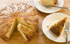 Pear and Walnut Upside Down Cake | Whole Foods Market
