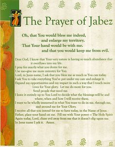 The Powerful Prayer of Jabez: Oh, that You would bless me indeed, and enlarge my territory. That Your hand would be with me, and that you would keep me from evil. Power Of Prayer Scriptures, Prayer Verses, Bible Prayers, Faith Prayer, God Prayer, Prayer Quotes, Deliverance Prayers, Healing Scriptures, Bible Quotes