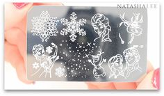 Disney Frozen Nail Art BBF Stamping Plate