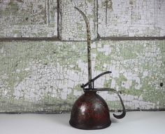 Vintage Large Oil Can by SouthernGilt on Etsy, $18.00