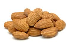 Almonds are a rich source of vitamin E, copper, magnesium, good quality protein, and healthy unsaturated fatty acids.  Studies have revealed that almonds can potentially help prevent cardiovascular heart diseases, cut the risk of cancer, and help prolong life.
