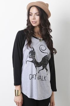 Kitty Calling Top