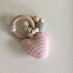 Best 11 Amigurumi Bunny Teether, Wooden Teether, Maple Wood Amigurumi Teether, A… – juguetes crochet – Diy Crochet Baby Toys, Crochet Bunny, Diy Crochet, Crochet Crafts, Crochet Dolls, Baby Knitting, Crochet Projects, Amigurumi Patterns, Crochet Patterns