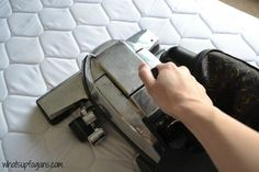 How to Remove Pee Stains (and Smell!) From a Mattress and from all fabrics! Ck this mixture for spray bottle!