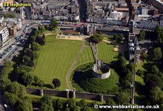Cardiff Castle Aerial Photograph -cb14624.jpg