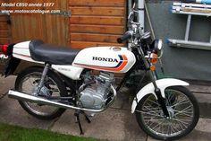 Honda CB50-1977-50cc-blanche-lisere-noir-orange