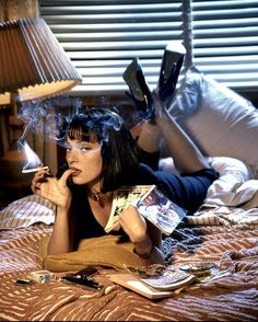 Pulp fiction, film, Uma Thurman