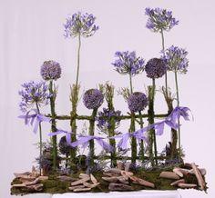 Design by Jodi Duncan   North American Wholesale Florist 2014 Open House