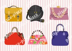 Bags illustration vector Adbe Illustrator EPS10
