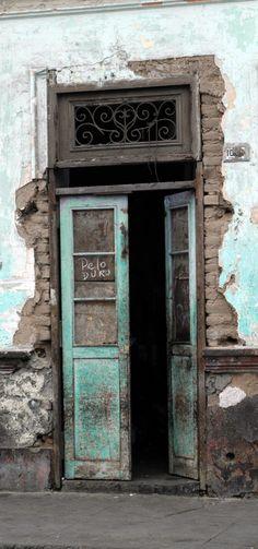 millie coquis - surquillo  - lima Perú  old doors