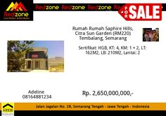Redzone Indonesia Semarang, Investment Property, Rebounding, Growing Up, Investing, Marketing, Grow Taller