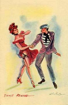 Delcampe – La plus grande marketplace pour les collectionneurs Alice, Dancing Drawings, Jack In The Box, Flappers, Dance Art, Belle Epoque, French Vintage, Vintage Posters, Images