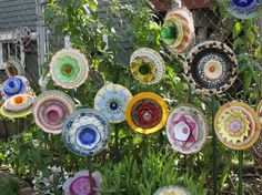Re-used, recycled, re-purposed items brought together Cathy Scherler via Leola Butcher onto Crafts ~ Old treasures
