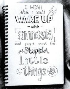 Amnesia this one makes me emotional