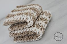 crochet dishcloths free pattern