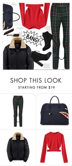 """""""Bang"""" by mycherryblossom ❤ liked on Polyvore featuring Gucci, Hermès, contestentry and polyPresents"""