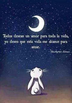 Y algunos se enamoran de la luna y otras de una ilusión. Algunos aman demasiado y otros siguen esperando encontrar el amor
