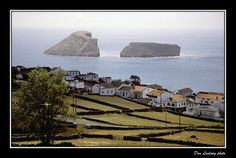 Split Rock. Terceira, Azores.  This looks like home to me because I got to look at it everyday while I lived in Lajes.