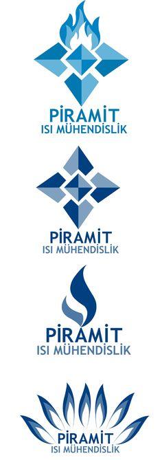 Piramit Isı; enerji sektöründe hizmet veren firmamıza yenilikçi bir logo tasarladık.