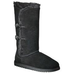Women's Xhilaration® Kamar Genuine Suede Shearling Style Boots 115