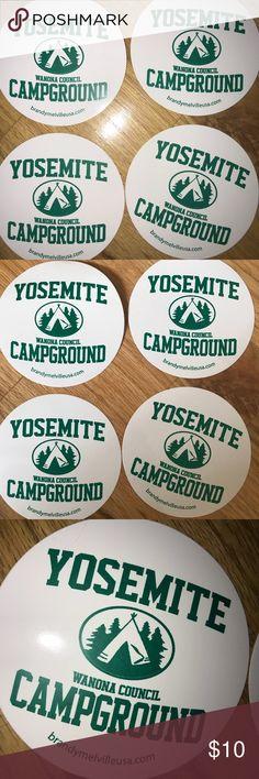 Brandy Melville Stickers (set of 4) ✨ Yosemite Campground stickers from Brandy Melville! Brandy Melville Other
