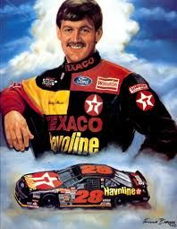 """David Carl """"Davey"""" Allison was a NASCAR driver. He was best known for driving the #28 Texaco-Havoline Ford for Robert Yates Racing in the Winston Cup Series."""