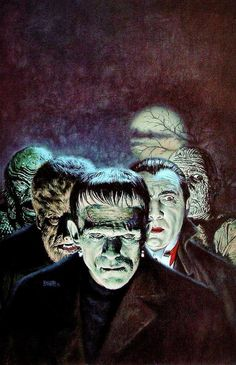 Universal Monsters by Bob Larkin