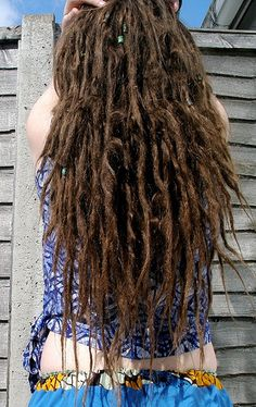 excellent hair for a beach vacation :: #dreadstop