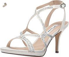 Nina Varsha Women US 9 Ivory Sandals - Nina pumps for women (*Amazon Partner-Link)