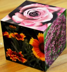 Made to Order Decorative Wooden Photo Cube by BLPhotography, $30.00