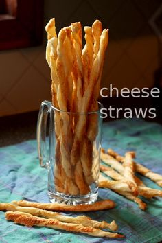 Cheddar and Parmesan Cheese Straws