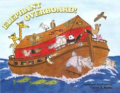Noahʹs Ark sparkles with fun and excitement whenever Edgar and Emma Elephant appear.But disaster strikes when Edgar unexpectedly falls into the ocean.Unless something is done quickly, Edgar might drown.Everyone is unhappy, especially the skunks. With imagination and humor, Carol J. Haile pens yet another yarn about life aboard Noahʹs Ark.This entertaining tale, vividly illustrated by the author herself, is certain to delight children of all ages. $19.95