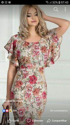 Beautiful dress sexy Love this , Esweety ❤💋💋💋💋💋💋💋💋💋💋💋💋💋💋💋💋 Stylish Dresses, Elegant Dresses, Pretty Dresses, Beautiful Dresses, Casual Dresses, Fashion Dresses, Short Sleeve Dresses, Special Dresses, Mothers Dresses