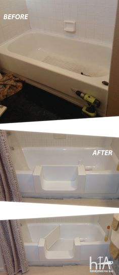 Safeway Step Accessible Tub Conversion Http Ageinplace