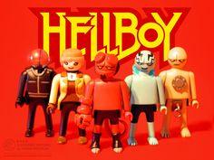 Hellboy Playmobil - Goodguys by ~JakobWestman on deviantART