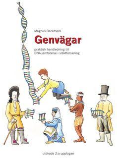 Första boken i ämnet DNA-genealogi på svenska