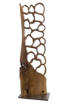 wooden sculpture TOTUM 17013 L. Art Sculpture En Bois, Outdoor Sculpture, Abstract Sculpture, Bois Diy, Driftwood Crafts, Wood Carving Art, Wooden Lamp, Wood Design, Wood Wall Art