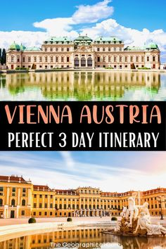 Here's my guide to spending three days in the elegant city of Vienna Austria. This 3 day Vienna itinerary takes you to Vienna's must see sites and attractions, historic landmarks, and world famous museums. Vienna is a pretty city with Baroque churches and imperial palaces. It has a historic old town and monuments to Vienna's composers. If you want to discover the best things to do and see in Vienna, read on! Vienna Itineraries | What To Do in Vienna | Austria Itineraries | Vienna…