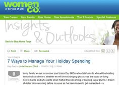 7 Ways to Manage Your Holiday Spending Blog Post by Linda Descano CFA®  - Use gift cards to manage your spending this holiday season.