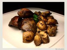 Ficatei de pui cu ciuperci