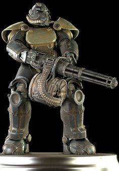 T-51 Power Armor by Yare-Yare-Dong on DeviantArt
