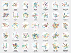 グラフィックデザイナーにとって最も重要な仕事の一つが、複雑な情報をよりわかりやすく伝えるコミュニケーションデザインである。その点において、公共交通機関の路線図はかなり難易度が高い。見た目の良さだけではなく情報の伝達スピー...