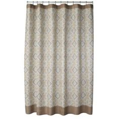 SONOMA life + style Torrance Medallion Fabric Shower Curtain