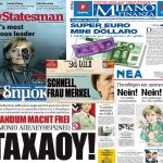 """Greece. Let's start from the Germany. In particular let's start from this article of the """"Der Spiegel"""" dated 2010, in which it's explained how Goldman Sachs helped the greek government to distort the balance sheet."""
