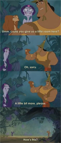 Emperor's New Groove, Disney, film, 2000 Disney Pixar, Walt Disney, Disney Memes, Disney Quotes, Disney Animation, Disney And Dreamworks, Disney Magic, Disney Facts, Punk Disney